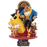 BEAST KINGDOM D-STAGE DIORAMA 11 BEAUTY AND THE BEAST DISNEY